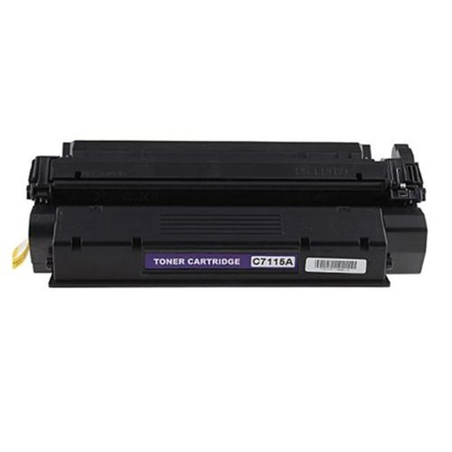 1220 Black Toner (HI-VISION 1 Pack Compatible HP 15A, C7115A Black Laser Toner Cartridge Replacement for LaserJet 3320mfp, 3330mfp, 1200, 3320m mfp, 1200n, 3300mfp, 1200se, 1220, 3380 All-in-one)