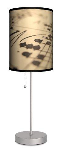 Music - Sheet Music Sport Silver (Music Lamp)
