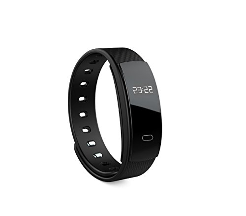 Price comparison product image Heart Rate Oxygen Smart Bracelet Sports Step Counter Waterproof Smart Watch Sports Bracelet Smart Reminder, Step Counter, Sports Tracking, Sleep Analysis (Color : Black)