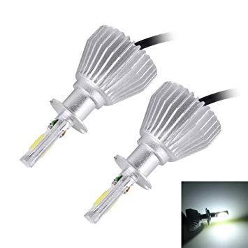 Uniqus 2 PCS H3 32W 2200lm 6000K Car LED Headlight, DC 12V(White Light)