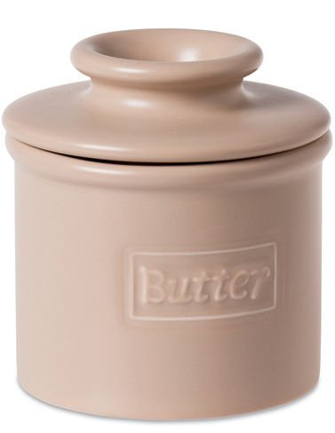 - The Original Butter Bell Crock by L. Tremain, Cafà Collection Beige Matte by Butter Bell Crocks