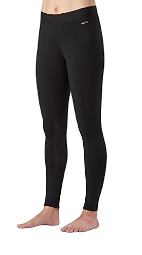 Kerrits Performance Tight Flow Rise Black Size: Medium -