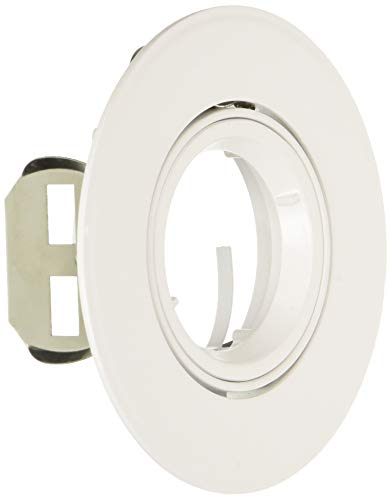 Eurofase TR-G14-02 3-1/4-Inch Cast Gimbal Recessed Trim, White