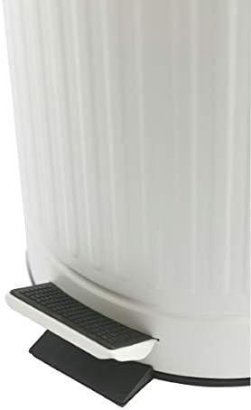 Color Blanco Wenko 22707100/Cubo de Basura con Pedal Leman 25/x 32/x 38/cm 12 l