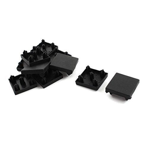 eDealMax 10 pezzi Nero Fine estrusione Tappo per 30 mm x 30 millimetri T-Slot profilo in alluminio
