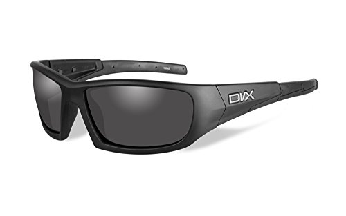 DVX by Wiley X -STATIC- SUN & SAFETY GLASSES- GREY LENSES/ MATTE BLACK - Sunglasses Dvx