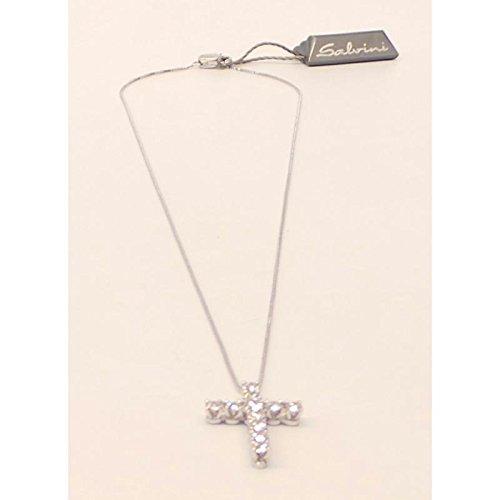 Collier Salvini Femme 20010156or blanc diamant