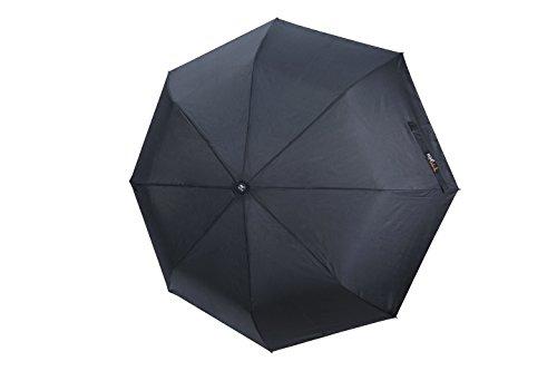 po-campo-rain-street-flare-umbrella-black