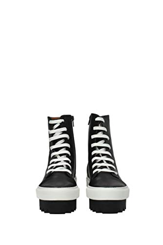 EU Cuir Noir Givenchy Sneakers Femme BE09153177 xqXEIrEF