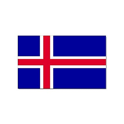 Icelandic Flag Sticker