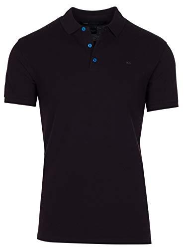 Marc by Marc Jacobs Men's Black Cotton Pique Polo Shirt, Black, - Men Shirts Jacobs Marc