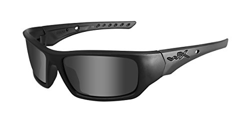 Wiley X Arrow, Black Ops, Matte Black Frame, Smoke Gray Lens