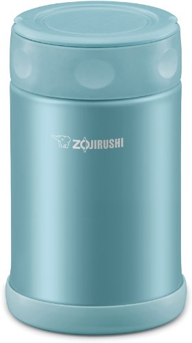 Zojirushi SW-EAE50AB Stainless Steel Food Jar, 17-Ounce/0.5-Liter, Aqua Blue by Zojirushi (Image #1)