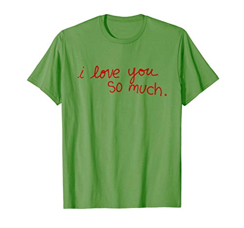 i love you so much - Austin City Graffity Funny Shirt Design