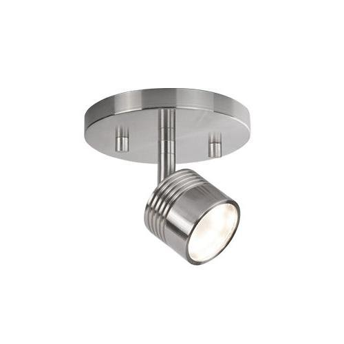 Radionic Hi Tech K_TKL_8868 Monica 4.75'' 1 Light Brushed Nickel Track Light Monica 1 Light Brushed Nickel Track Light
