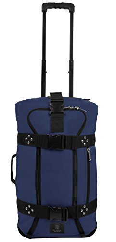 Club Glove Mini Rolling Duffle III Travel Luggage (Navy)