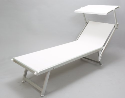 """Chaise Lounge with """"Shade Roof"""""""