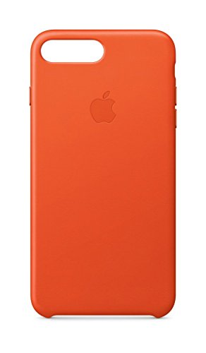 Latest Apple Leather Case (for iPhone 8 Plus/iPhone 7 Plus) - Bright Orange orange iphone 8 plus case 5