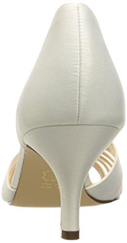 Ivory Dress Coella Pump Nina Women's Satin Luster Iw1qxaC