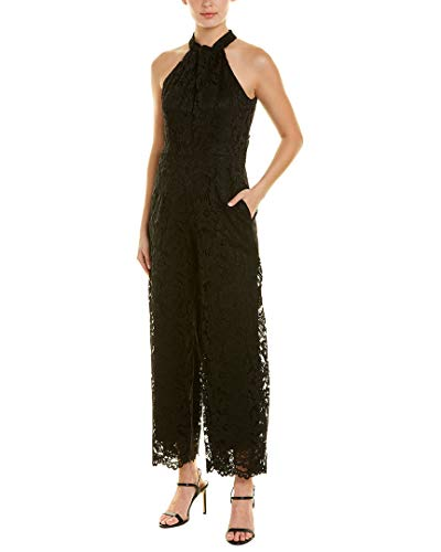Julia Jordan Womens Jumpsuit, 14, Black