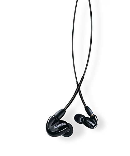 Shure SE315-K Sound Isolating Earphones with Single High Definition MicroDriver and Tuned BassPort (Shure In Monitors Ear)