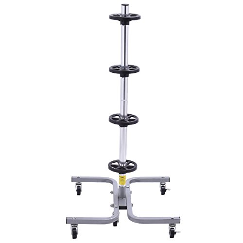 Goplus Tire Storage Tree Heavy Duty Wheel Rack Holder Garage Trolley - 275Lb by Goplus