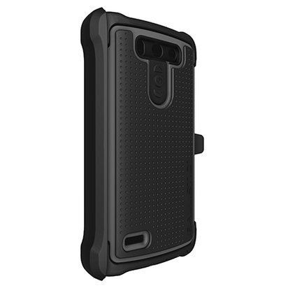 BALLISTIC  Tough Jacket Maxx with Holster for LG G3 Vigor - Retail Packaging - Black/Gray (Lg G3 Vigor Phone Accessories compare prices)