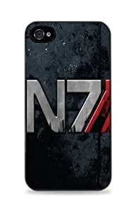 Mass Effect N7 Apple iPhone 5C Silicone Case - Black -2011