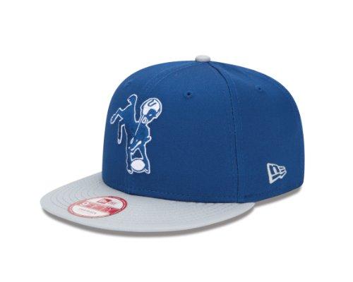 NFL Baltimore Colts Baycik Historic 9Fifty Snapback Cap, Small/Medium