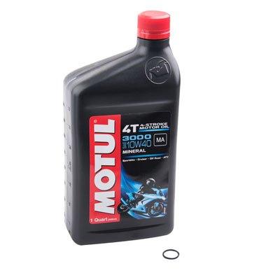 Tusk Transmission Oil Change Kit Motul 3000 10W-40 - Fits: Beta 300 Xtrainer 2015-2018