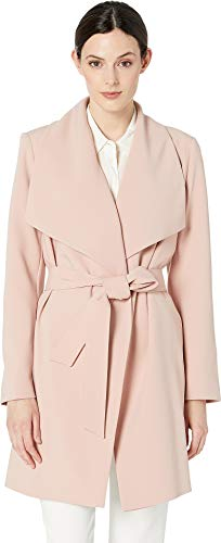 LAUREN RALPH LAUREN Women's Crepe Drape Front Blush Medium