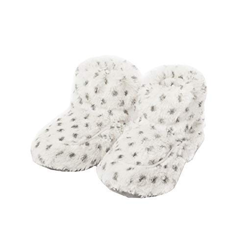 Intelex Luxury Warmies Microwavable Cozy Boots - Snowy