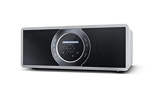 Sharp DR-I470 (GR) PRO digitale stereo internetradio met DAB/DAB+/FM-tuner, Bluetooth V2.1 + Edr, volledige bediening…