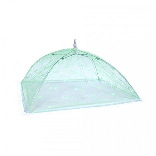 Fliegenhaube - Speiseschirm - Abdeckhaube - Lebensmittel - Schirm 41 cm grün
