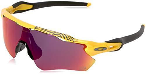 Oakley Men's Radar Ev Path Non-Polarized Iridium Rectangular Sunglasses, Yellow, 0 ()