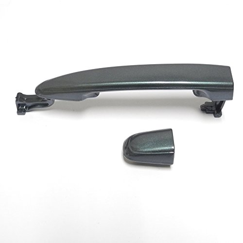 For Rear Left/Right 2004-2010 Toyota Sienna Aspen Green Pearl 6S7 Outside Outer Door Handle W/O Keyhole 2004 2005 2006 2007 2008 2009 2010 ()
