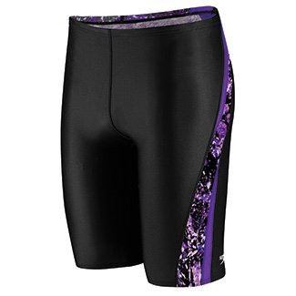 Speedo Splatter Splash Jammer Male Speedo Purple 36 (Splatter Jammer)
