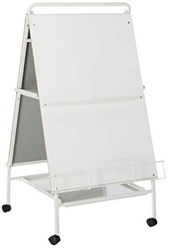 Balt Double-Sided Display Easel with Marker Tray/Wheels