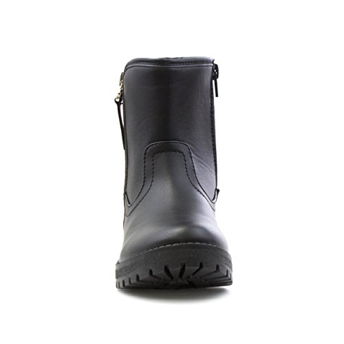 Lilley - Bota al tobillo, de tacón en bloque, negra, para mujer Lilley Negro