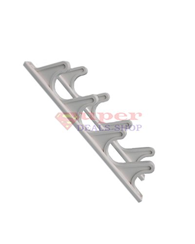 2 pcs 9 1 2 x 9 16 white patio adjustment brackets for