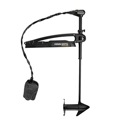 "Minn Kota Maxxum 70 Bow-Mount Trolling Motor with Foot Control and Bowguard (70-lb. Thrust, 42"" Shaft)"