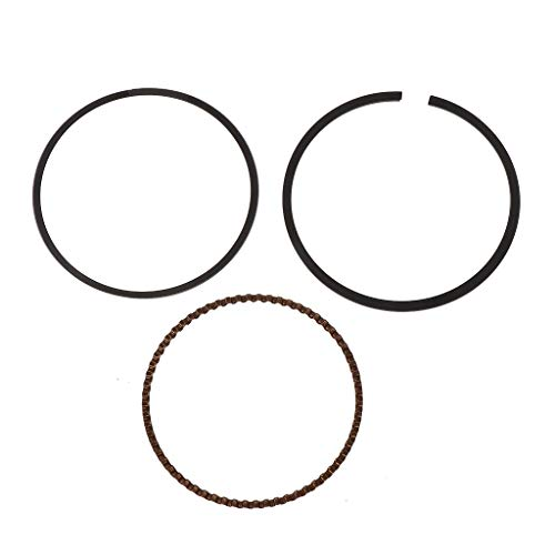 (Autones 1 Set 57.5mm Piston Rings 150 Motorcycle Engine Part for Kawasaki ZZR400 ZZR/ZRX)