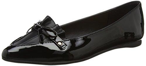 Perkins Closed Black Navy WoMen Bow Dorothy Harper Heels 100 Toe vdBwvU