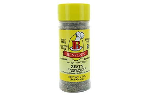 2 Ounce Free Herb - Zesty Lemon and Herb Salt-Free Seasoning (2 oz Bottle)