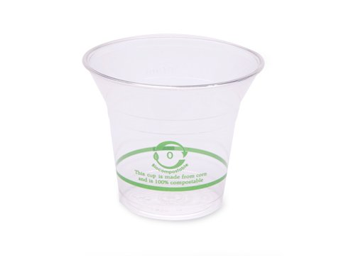World Centric's 100% Biodegradable, 100% Compostable 5 oz Corn PLA Cold Cup (Package of 400) from World Centric