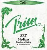 Prim 4/4 Cello String Set - Medium Gauge