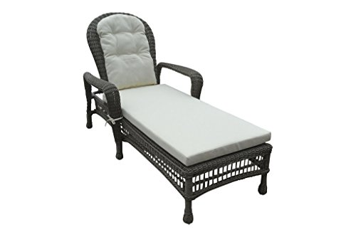 Panama jack pjo 1301 gry cl carolina beach stackable for Big and tall chaise lounge