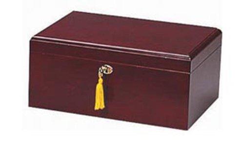 (Quality Importers Milano 75-100 Cigar Humidor, Cherry )