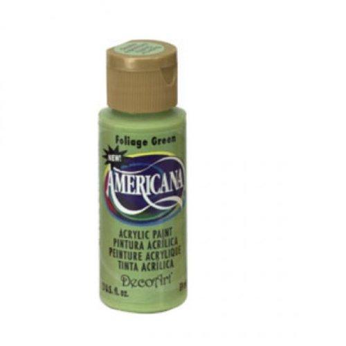 Americana Acrylic Paint 2oz-Foliage Green - Opaque ()