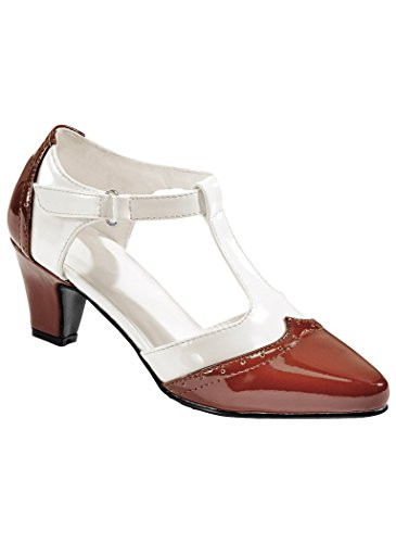 Beacon Womens Adult Angel Steps Layla synthetic Brown/White Xh9PD4cs